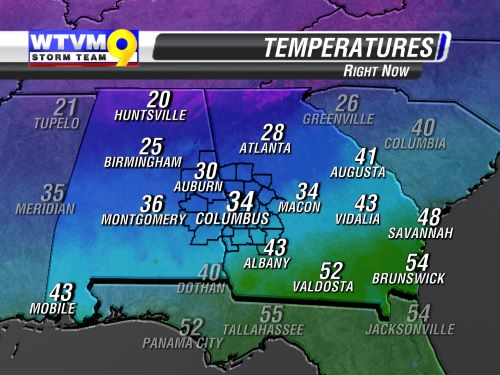 State Current Temps